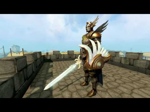 Runescape Defender of the Mind Cosmetic Armour + Angelic Inari Pet!