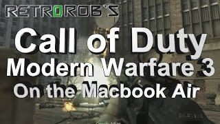 Mac Gaming: Call Of Duty Modern Warfare 3 Running on a Macbook Air