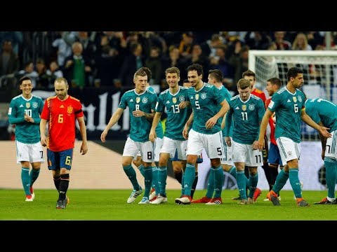 Germany vs Spain Full Match 23/03/2018 HD