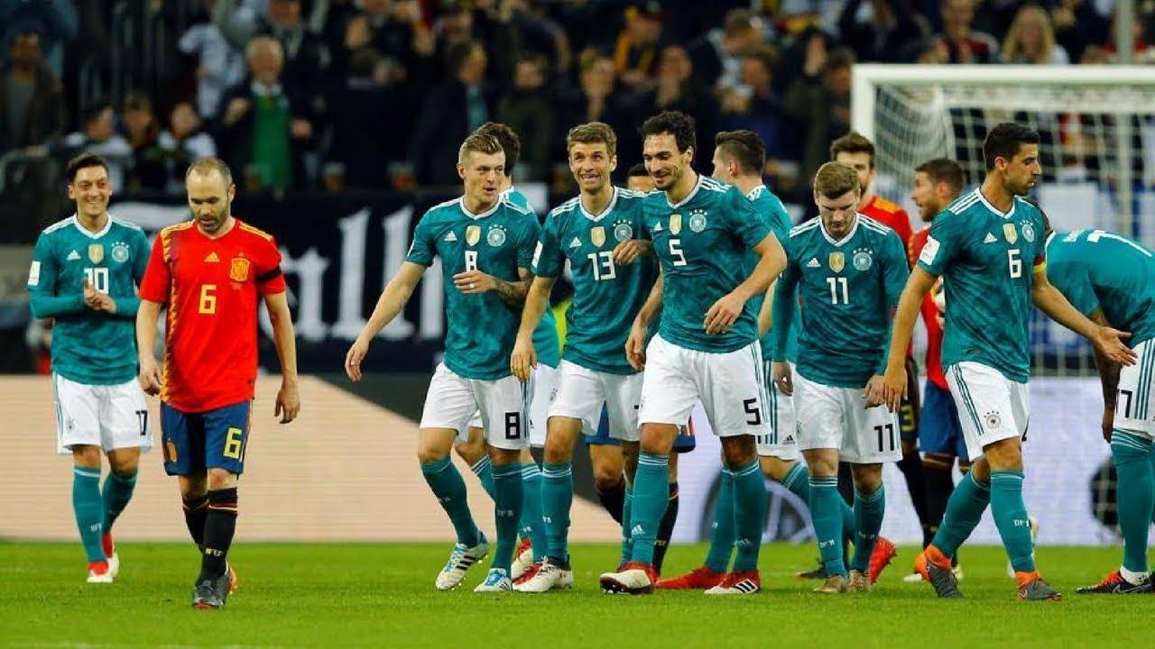 Germany vs Spain Full Match 23/03/2018 HD - YouTube