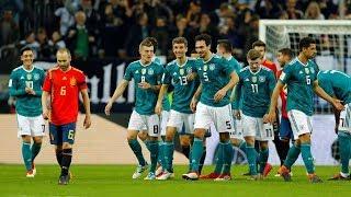 Germany vs spain 1-1 full match 23/03/2018 hd