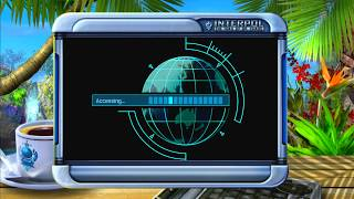 Interpol: The Trail of Dr. Chaos Title Screen (Xbox 360)
