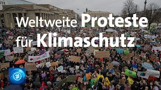 quot;Fridays for Futurequot;Proteste in mehr als 120 Ländern