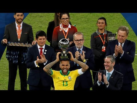 Dani alves●Best Player in Copa america 2019 | HD (Skills, defensive tackles, Goals)
