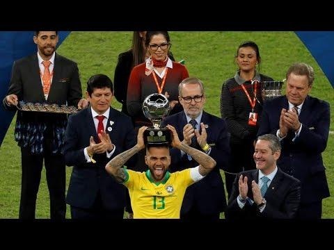 Dani alves●Best Player in Copa america 2019 | HD (Skills, defensive tackles, Goals)