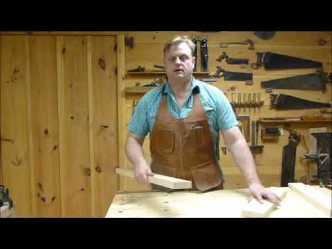 The New Hampshire Woodshop saw bench part 5