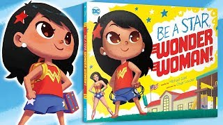 Be A Star Wonder Woman | Reading Month: Book Trailer | DC Kids