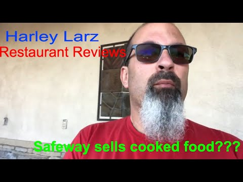 Trying The Hot Food At Safeway Grocery Store On Alma School And Chandler Heights In Chandler, AZ