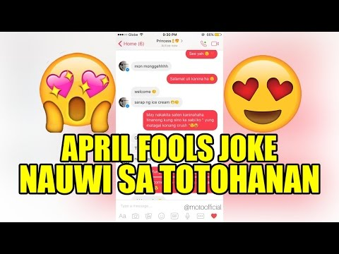 April Fools Joke Aminan ng Feelings Nauwi sa Totohanan.