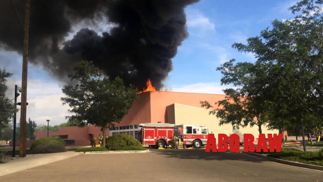 Taylor Ranch Community Center Albuquerque Building Fire