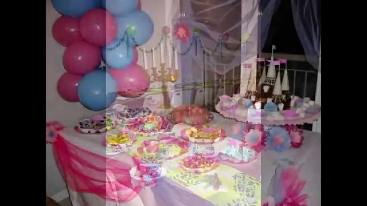 Decoration d anniversaire youtube - Deco table d anniversaire ...