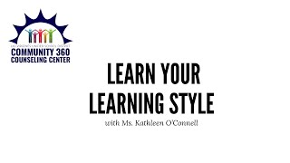 Learn Your Learning Style