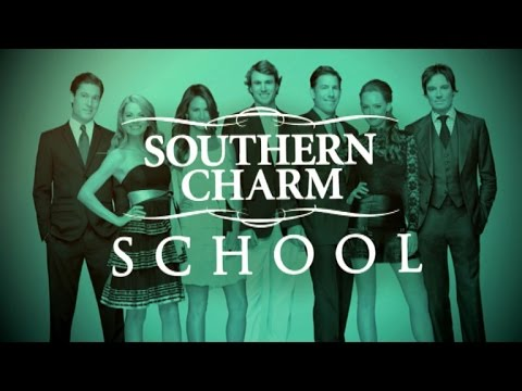 Cameran Eubanks and Shep Rose Play 'Southern Charm' School
