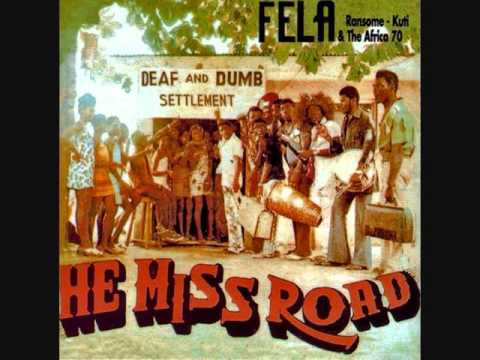 Fela Kuti (Nigeria, 1975) -  He Miss Road (Full Album)