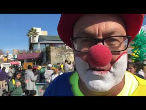 Kenny The Clown Zennie62 Fan At Oakland A's FanFest Jack London Square