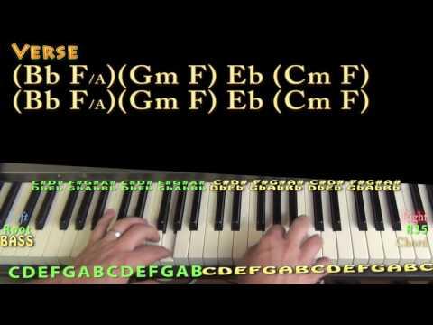 H.O.L.Y. (Florida Georgia Line) Piano Lesson Chord Chart
