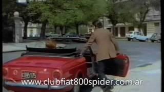"""Fiat 800 Spider Film """"El Caradura y la Millonaria"""" 1970"""