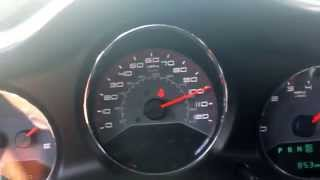 0-100 dodge avenger stock no tune