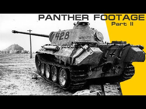 15minutes of Panther WW2 Footage Part 2