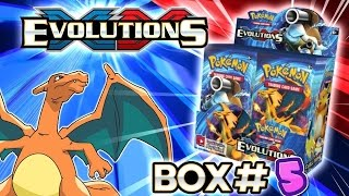 turbo opening xy evolutions booster box 5 all 36 packs pokemon tcg unboxing