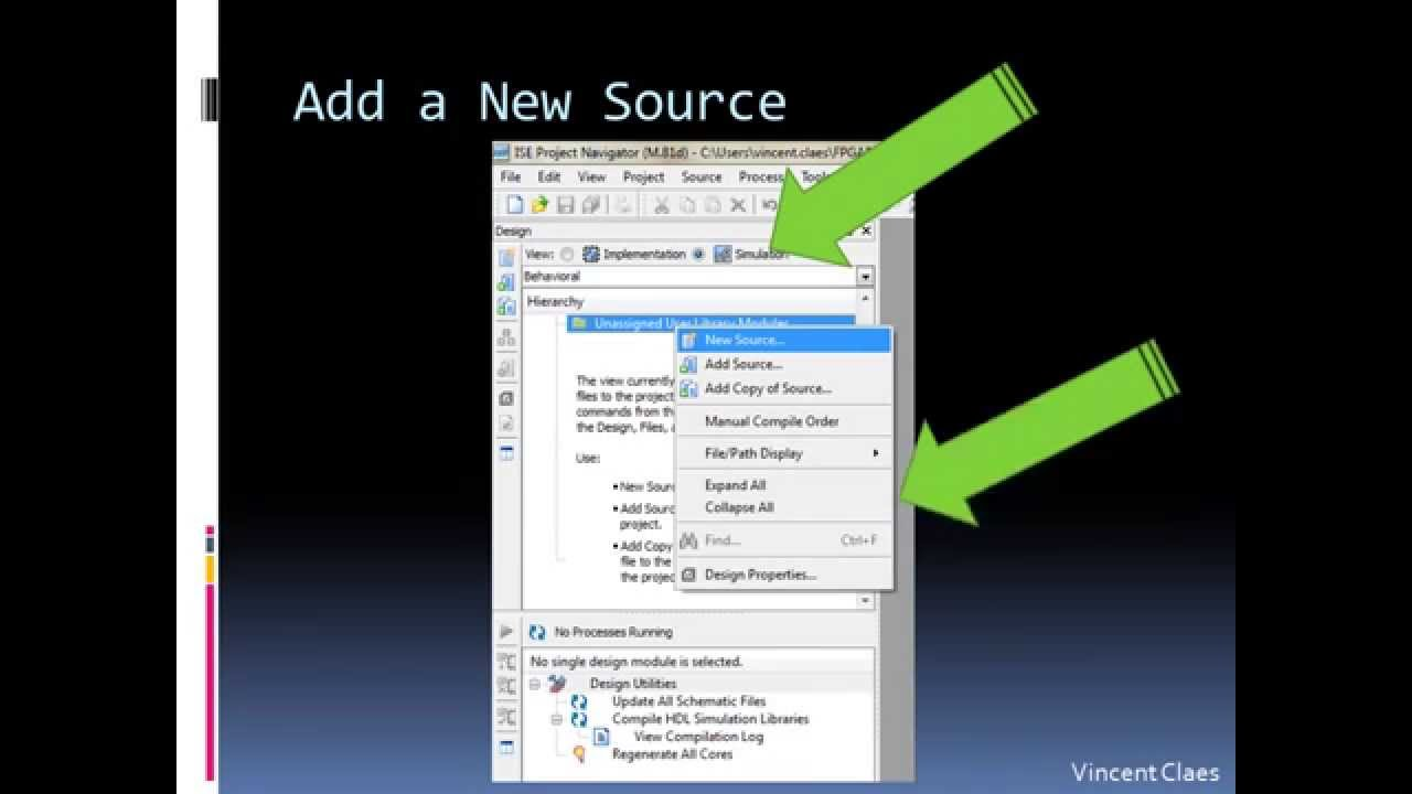 Introduction to VHDL in Xilinx ISE 101 - University of