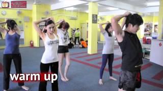200kg Girls Kickboxing