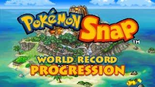 Pokémon Snap Any% Speedrunning World Record Progression