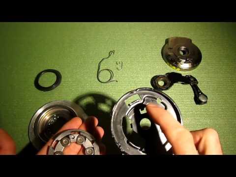Велосипедный роллерный тормоз  Разборка, сборка, обслуживание