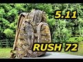 5.11 Tactical RUSH 72 Backpack: Full Review