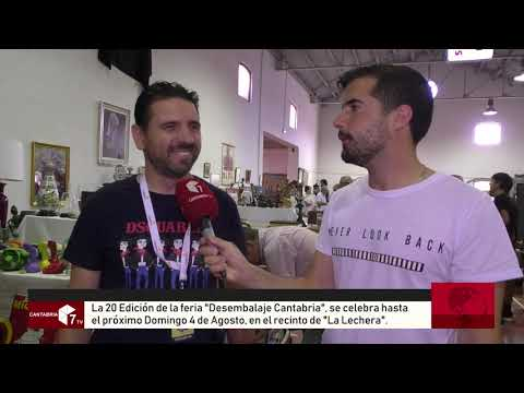 """La Feria """"Desembalaje Cantabria"""" la más importante de España"""