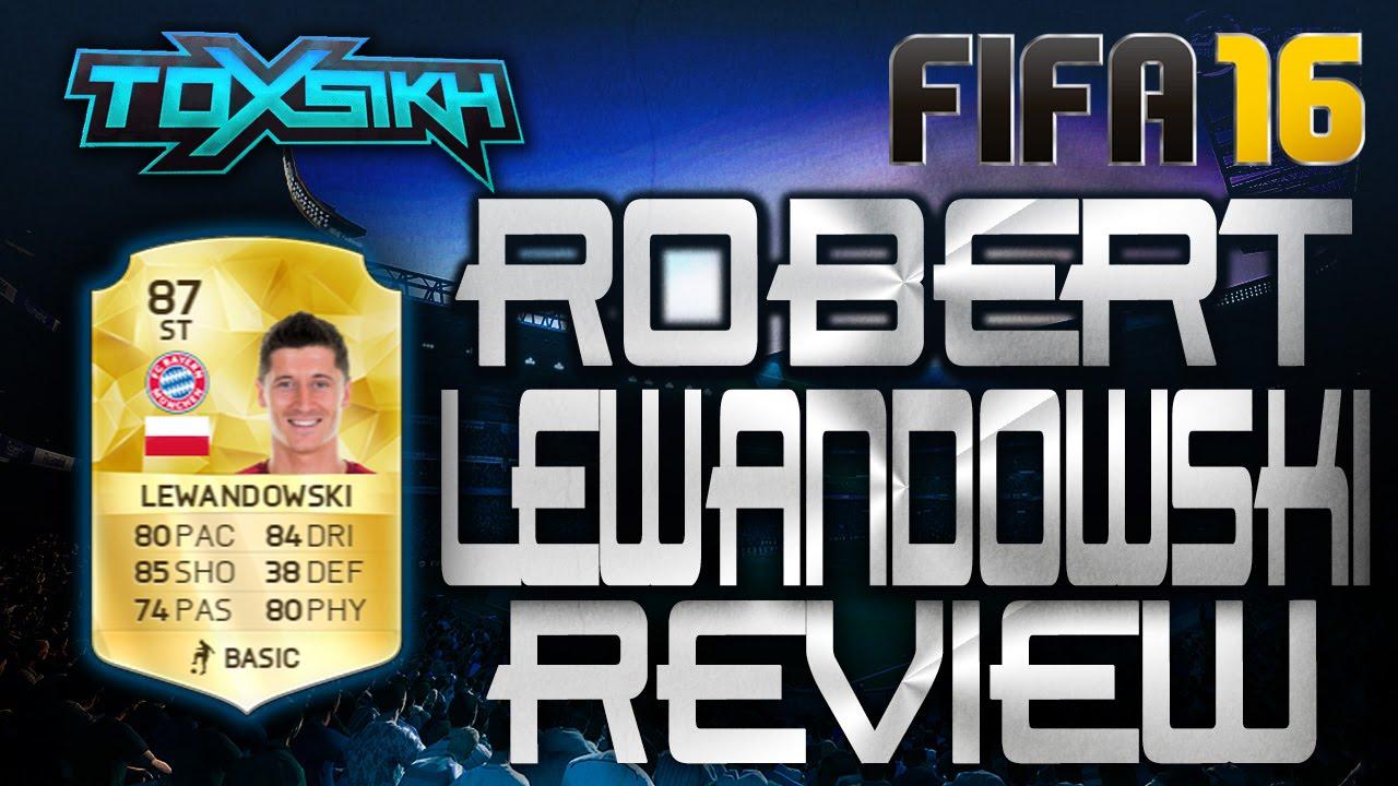 Lewandowski Fifa 16
