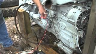 Perkins 6.354 Diesel Test