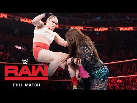 FULL MATCH - Ronda Rousey & Natalya vs. Nia Jax & Tamina: Raw, Dec. 31, 2018