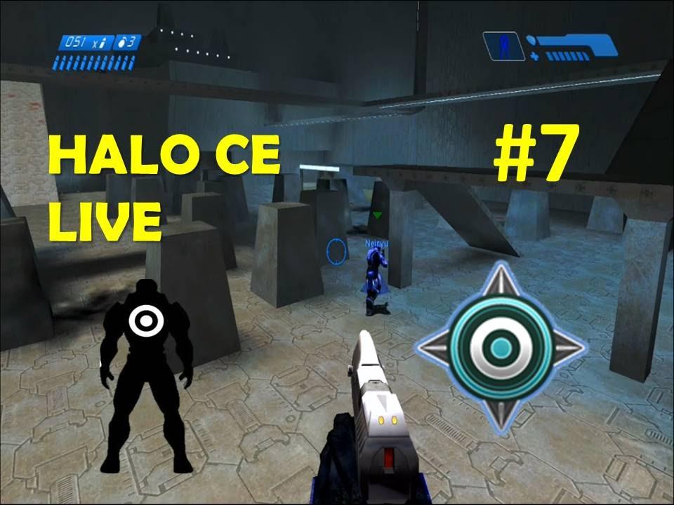 Halo MCC - Halo CE Multiplayer LIVE - Game 7 Slayer on ...