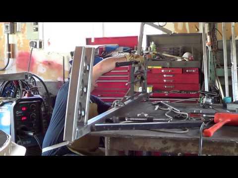 MrINJEN - Building a Decorative Steel / Wrought Iron Gate Part 2