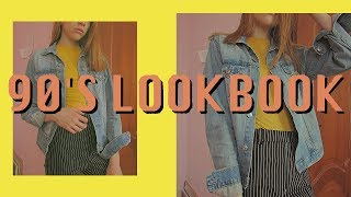 90'S LOOKBOOK // ОБРАЗЫ В СТИЛЕ 90-Х // ТРЕНДЫ 2018