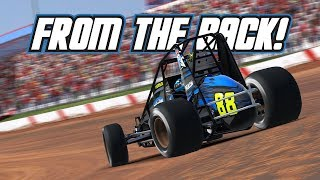 iRacing: From the Back! (Wingless Sprintcar @ Lanier)