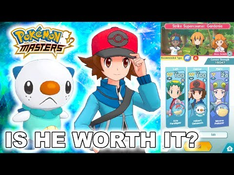 HOW GOOD ARE THEY? SHOULD YOU SUMMON FOR THEM? HILBERT & OSAWOTT SHOWCASE! | Pokemon Masters