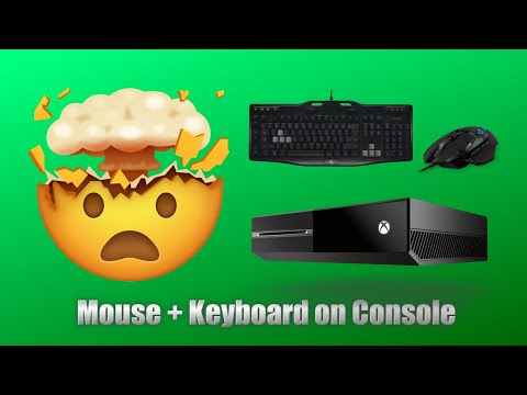Playing 9 Xbox One Games With Native Keyboard & Mouse Support