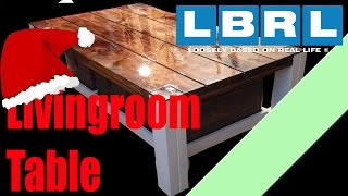 Building a livingroom table, christmas edittion