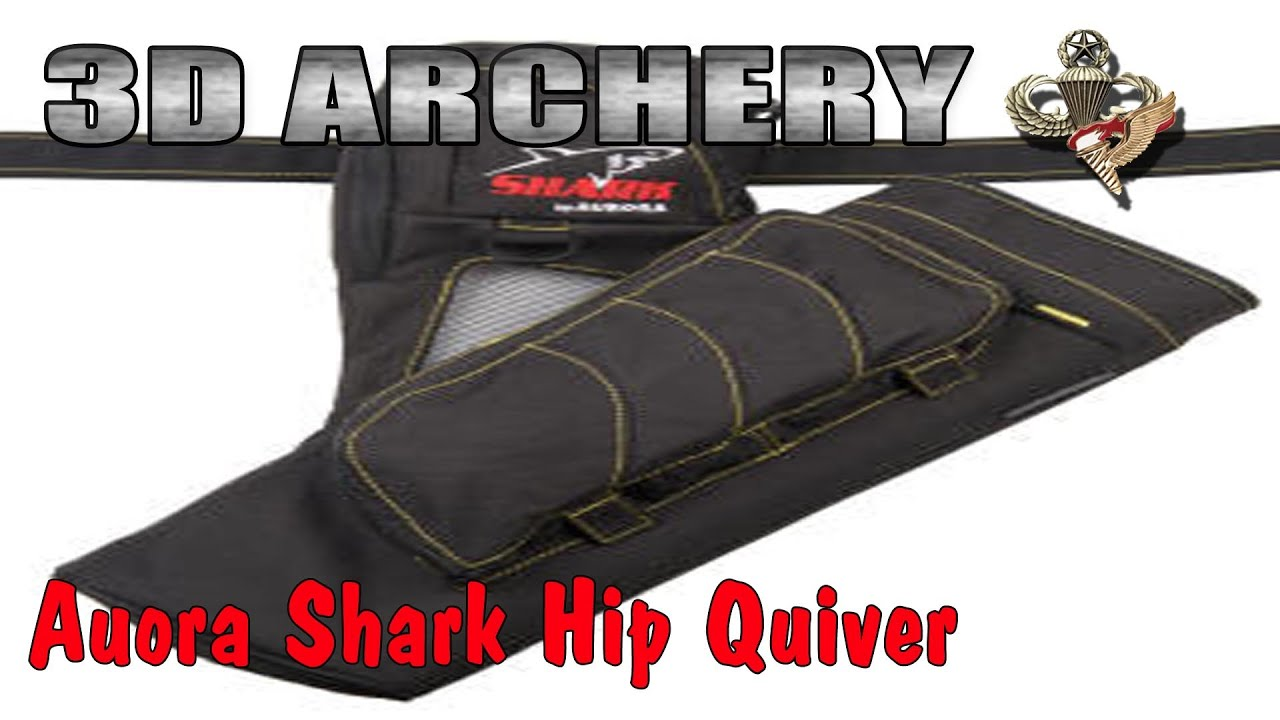 3D Archery - Aurora Shark Quiver Review - YouTube