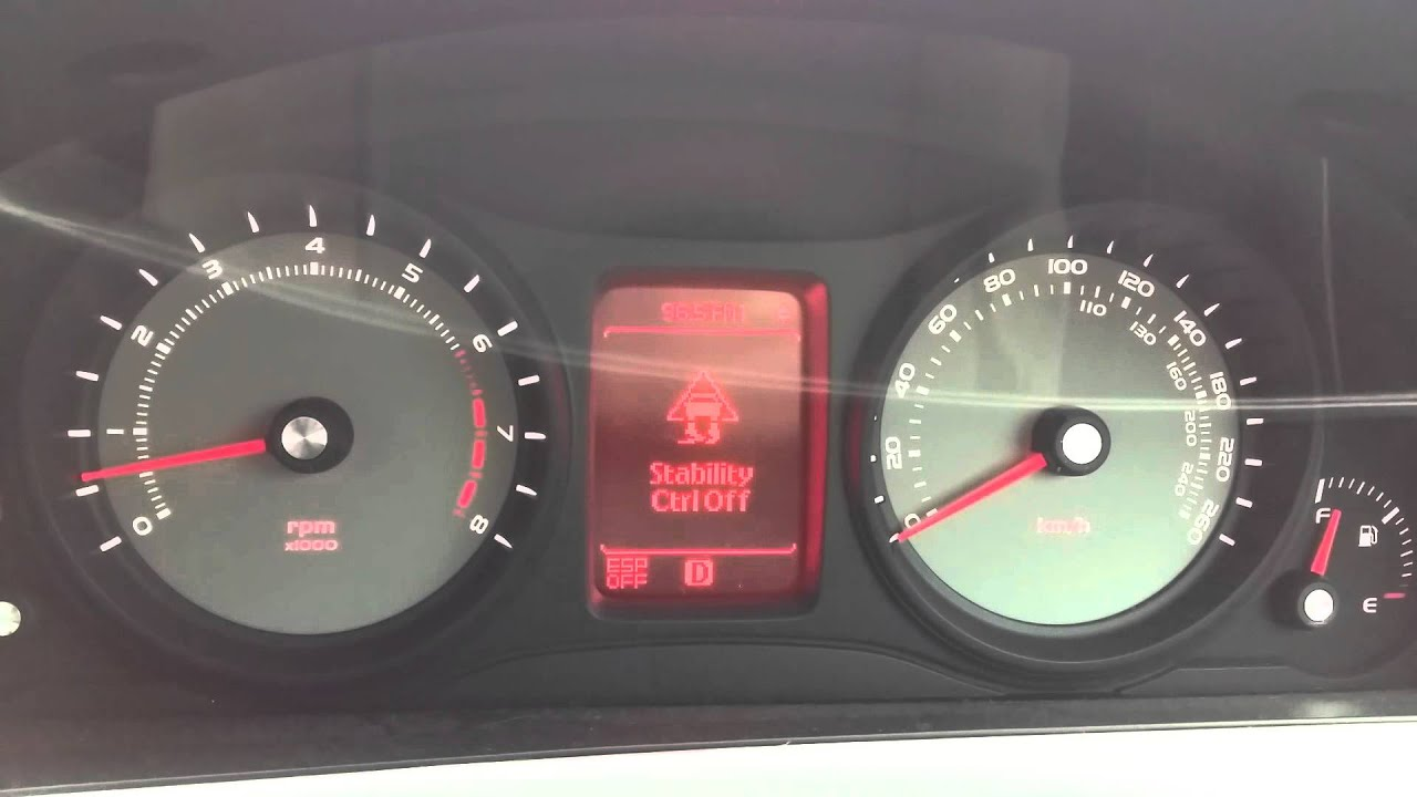 Holden Commodore 2009 Sv6 Fault