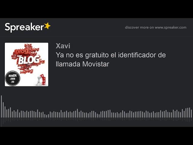 Ya no es gratuito el identificador de llamada Movistar