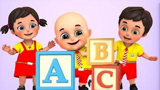 ABC Song with Building Blocks + More Nursery Rhymes & Kids Songs - Jugnu Kids