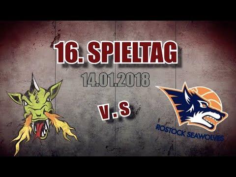 16. Spieltag   14.01.2018   Artland Dragons gegen Rostock Seawolves