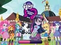 My Little Pony Equestria Girls Canterlot High School Dash For The Crown