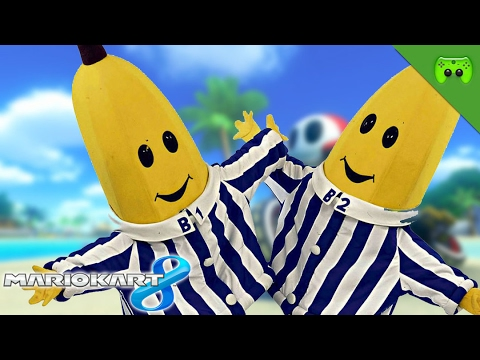 BANANAS IN PYJAMAS 🎮 Mario Kart 8 #257