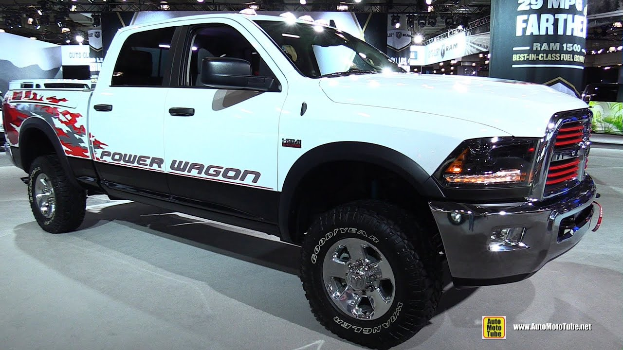 2015 RAM Power Wagon - Exterior and Interior Walkaround ...