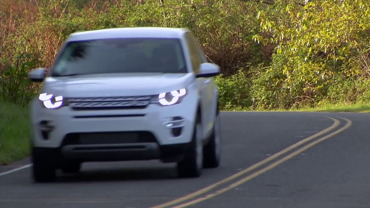 fan's supercar | 2015 land rover discovery sport hse luxury car