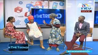 #theTrend: Awija gifts Anita Nderu a 'kamisi'